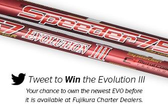Fujikura Speeder Evolution III Twitter Contest